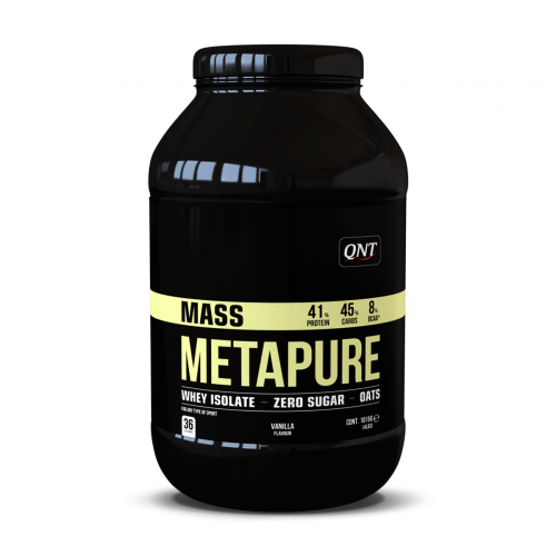 QNT - METAPURE WHEY PROTEIN ISOLATE GAINER